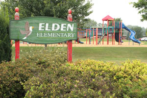 an image of the Elden Elementary School playground